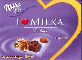 I Love Milka Marzipan Pralinés