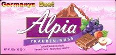 Alpia Trauben-Nuss
