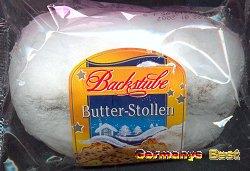 Backstube Kleiner Butter Stollen