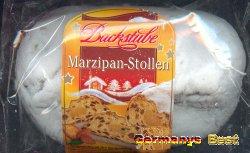 Backstube Kleiner Marzipan Stollen