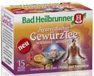 Bad Heilbrunner Ayurvedischer Gewürztee