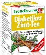 Bad Heilbrunner Diabetiker-Zimt- Tee, 8 bags