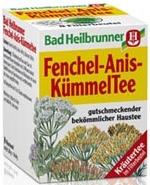 Bad Heilbrunner Fenchel-Anis Tee, 8 bags