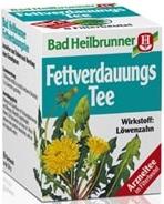 Bad Heilbrunner Fettverdauungs-Tee, 8 bags