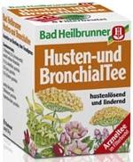 Bad Heilbrunner Husten-Bronchial-Tee, 8 bags