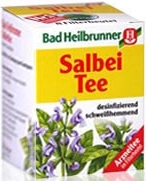 Bad Heilbrunner Salbei Tee, 8 bags