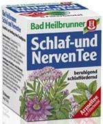 Bad Heilbrunner Schlafen & Nerven Tee, 8 bags