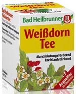 Bad Heilbrunner Weissdorn Tee, 8 bags
