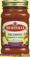 Bertolli Pasta Sauce Tomaten Pecorino Kaese & Knoblauch