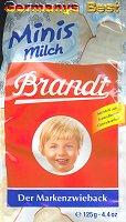 Brandt Zwieback Minis Milch