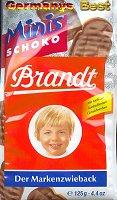 Brandt Zwieback Minis Schoko
