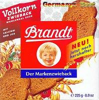 Brandt Vollkorn-Zwieback