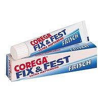 Corega Fix & Fest Ultrahaftcreme Frisch