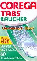 Corega Tabs Raucher, 60 Tabletten