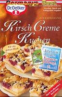 Dr.Oetker Kirsch Creme Kuchen