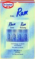 Dr.Oetker Aroma Rum, 4 pieces