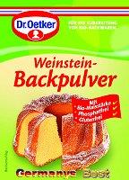Dr.Oetker Bio Weinsteinpulver, 3 bags