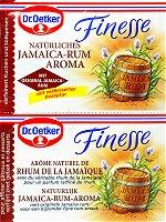 Dr.Oetker Finesse Jamaica-Rum, 2 pieces