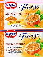 Dr.Oetker Finesse Orangenfrucht, 2 pieces