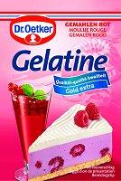 Dr.Oetker Gelatine gemahlen Rot, 3 bags