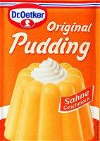 Dr.Oetker Original Pudding Sahne, 3 bags