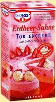 Dr.Oetker Tortencreme Erdbeer-Sahne