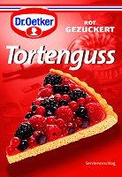 Dr.Oetker Tortenguss Ungezuckert Rot, 3 bags