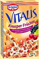 Dr.Oetker Vitalis Knusper Fruechte