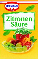 Dr.Oetker Zitronensaeure, 5 bags