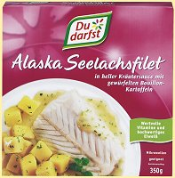 Du Darfst Fertigericht Alaska Seelachsfilet