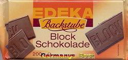 Edeka Backstube Block Schokolade