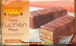 Edeka Backstube Feine Kuchen Riegel -Caramel-
