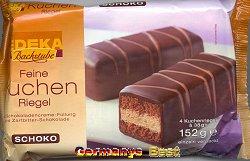 Edeka Backstube Feine Kuchen Riegel – Schokolade-
