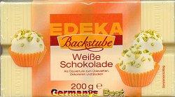 Edeka Backstube Weisse Schokolade