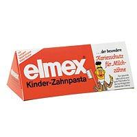 Elmex Kinder-Zahnpasta für Milchzaehne