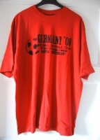 EM 08 T-Shirt Germany, Rot, Size L