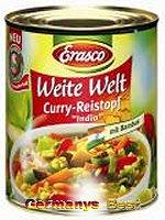 Erasco Weite Welt Curry-Reistopf -India-