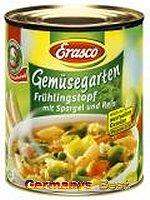 Erasco Gemüsegarten Frühlingstopf mit Spargel und Reis