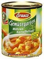Erasco Gemüsegarten Möhren-Kartoffeltopf