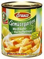 Erasco Gemüsegarten Weißkohl-Kartoffeltopf