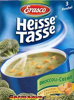 Erasco Heisse Tasse Broccoli Creme Suppe -Box-