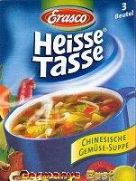 Erasco Heisse Tasse Chinesische Gemüse Suppe -Box-