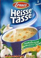 Erasco Heisse Tasse Französische Knoblauch Creme Suppe -Box-