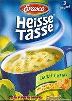 Erasco Heisse Tasse Lauch Creme Suppe -Box-