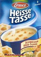 Erasco Heisse Tasse Schweizer Käse Suppe -Box-