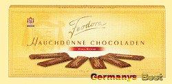 Feodora Hauchduenne Chocoladen Edel-Bitter