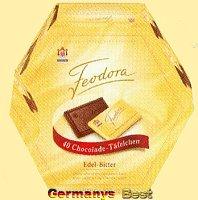Feodora Taefelchen Box Edel-Bitter