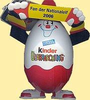 Ferrero Kinder Ü-Ei mit 7 Ü-Eier -Only for a short time-