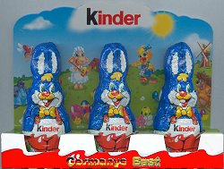 Ferrero Kinder 3x Osterhase