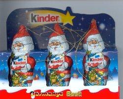 Ferrero Kinder 3x Weihnachtsmann